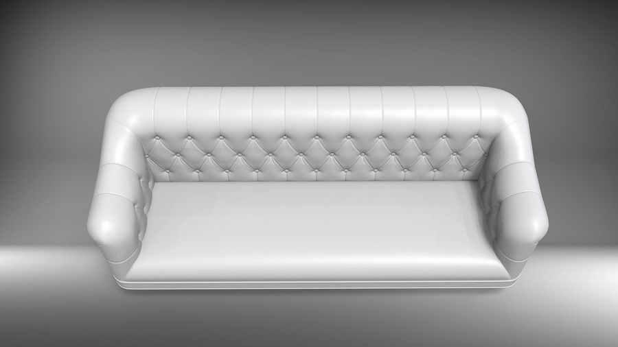 Couch Sofa royalty-free 3d model - Preview no. 6