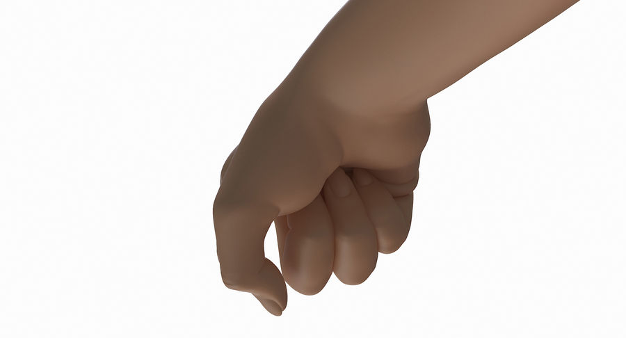 Female Arm A (Pose E) Pointing royalty-free 3d model - Preview no. 19