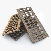 모래 사다리 / 금속 보도 3d model