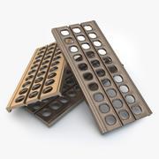 Scalette di sabbia / Passerella di metallo 3d model