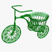 Stojak na rower 3d model