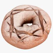 Rye bread 3d model