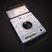 Old analog multimeter 3d model