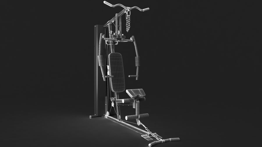 Equipamento de ginástica 1 royalty-free 3d model - Preview no. 18