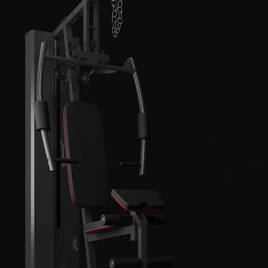 Equipamento de ginástica 1 royalty-free 3d model - Preview no. 13
