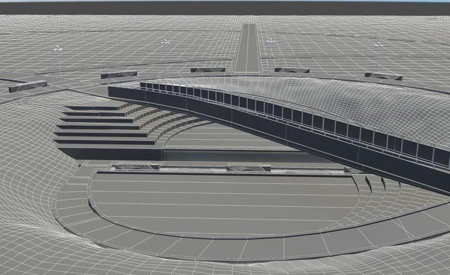 Parkera landskap royalty-free 3d model - Preview no. 13