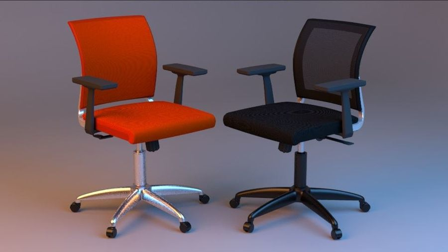 Rigged Luxury Office Chair 3d Model 20 Ma Free3d
