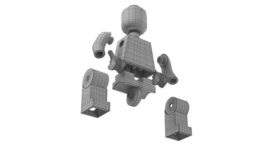 LEGO royalty-free 3d model - Preview no. 18