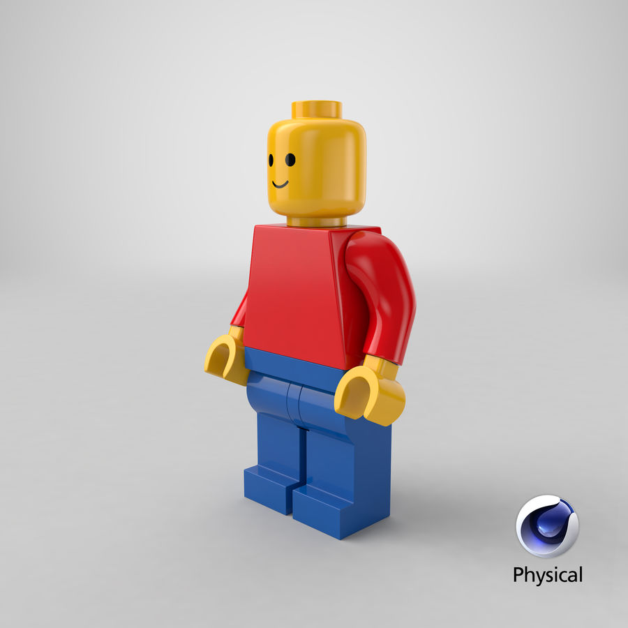 LEGO royalty-free 3d model - Preview no. 27