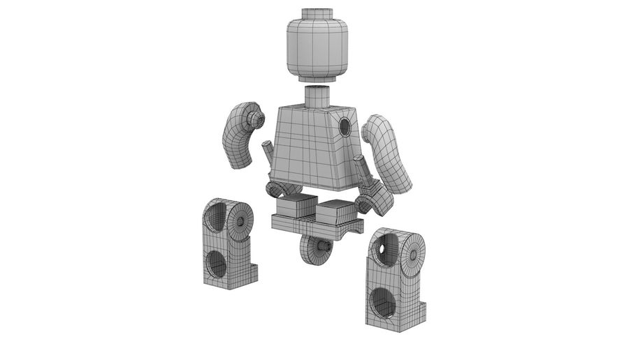 LEGO royalty-free 3d model - Preview no. 20