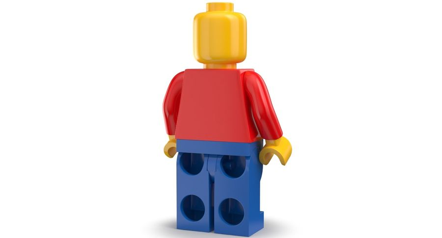 LEGO royalty-free 3d model - Preview no. 3
