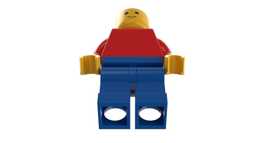 LEGO royalty-free 3d model - Preview no. 6