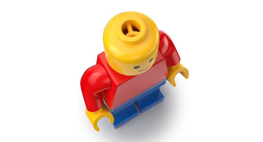 LEGO royalty-free 3d model - Preview no. 4