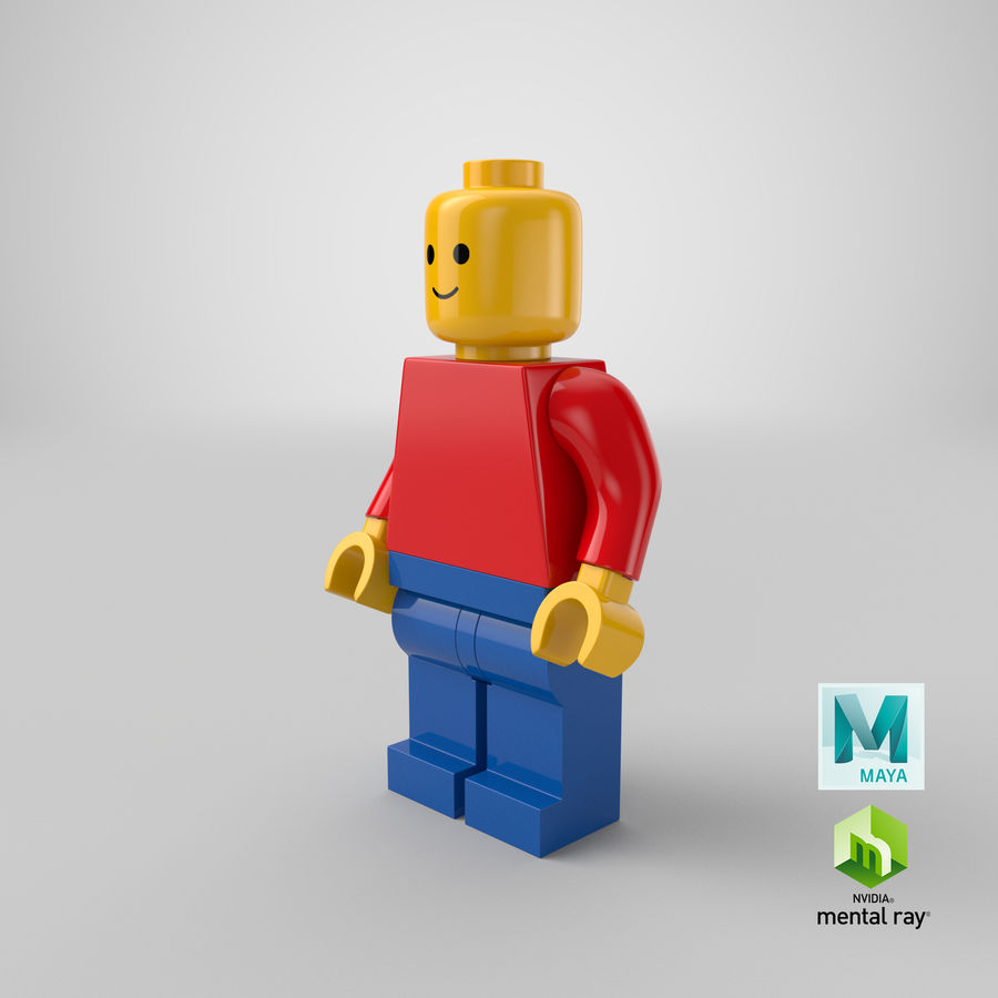 LEGO royalty-free 3d model - Preview no. 24