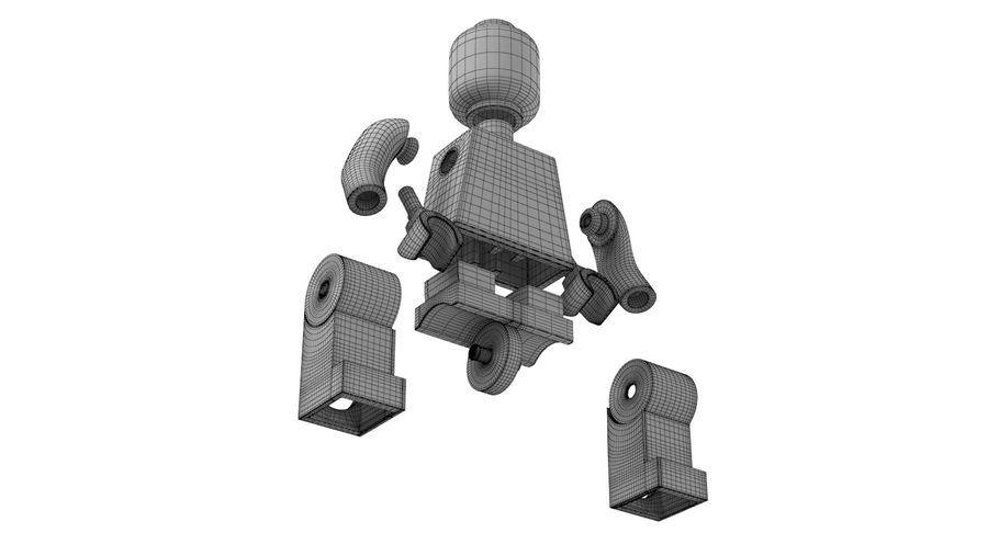 LEGO royalty-free 3d model - Preview no. 19