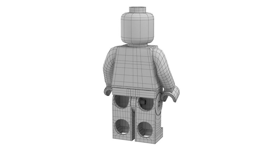 LEGO royalty-free 3d model - Preview no. 16