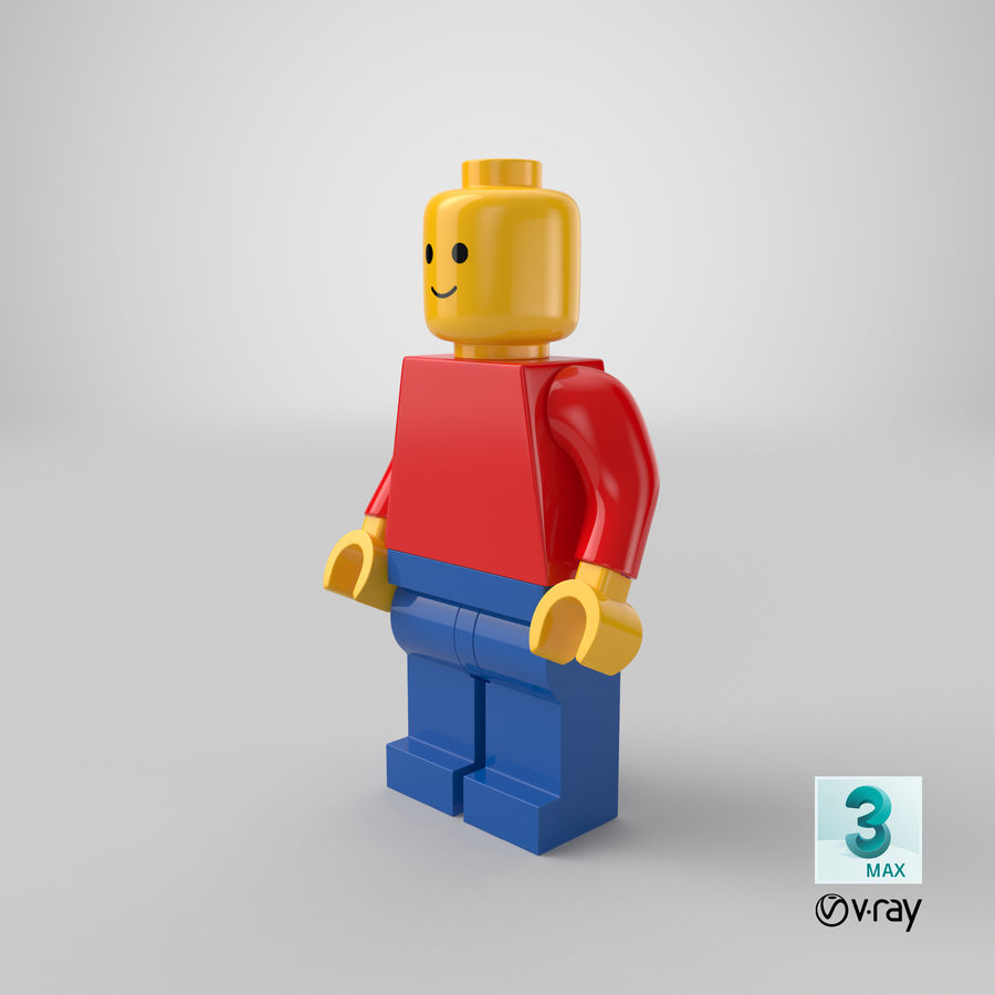 LEGO royalty-free 3d model - Preview no. 25