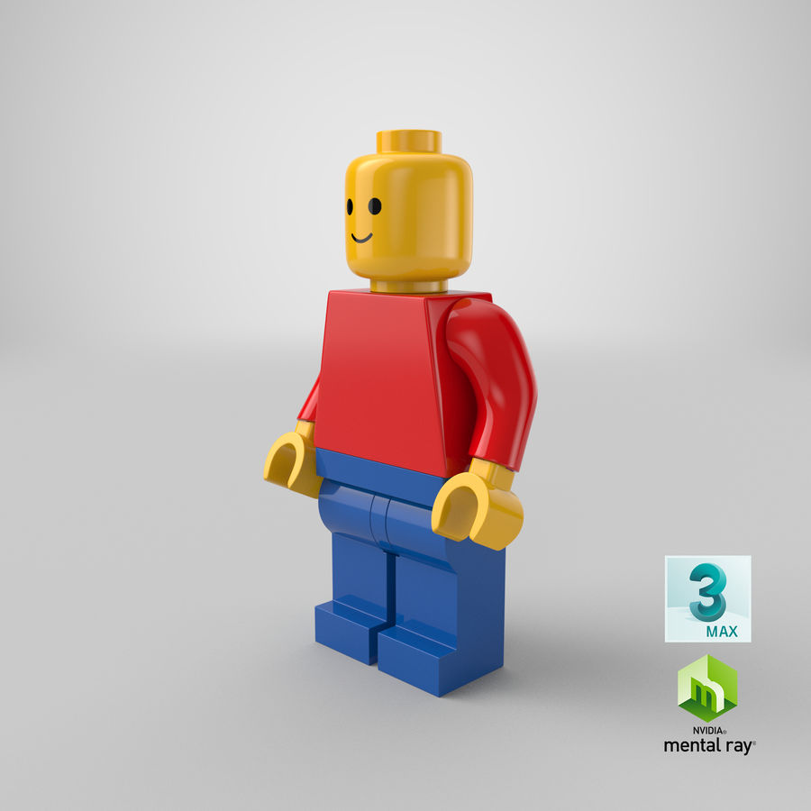 LEGO royalty-free 3d model - Preview no. 26