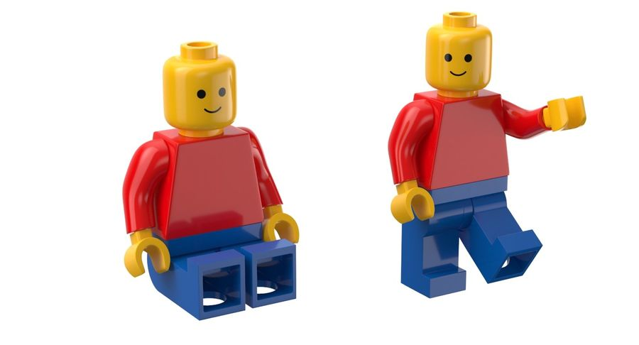 LEGO royalty-free 3d model - Preview no. 12