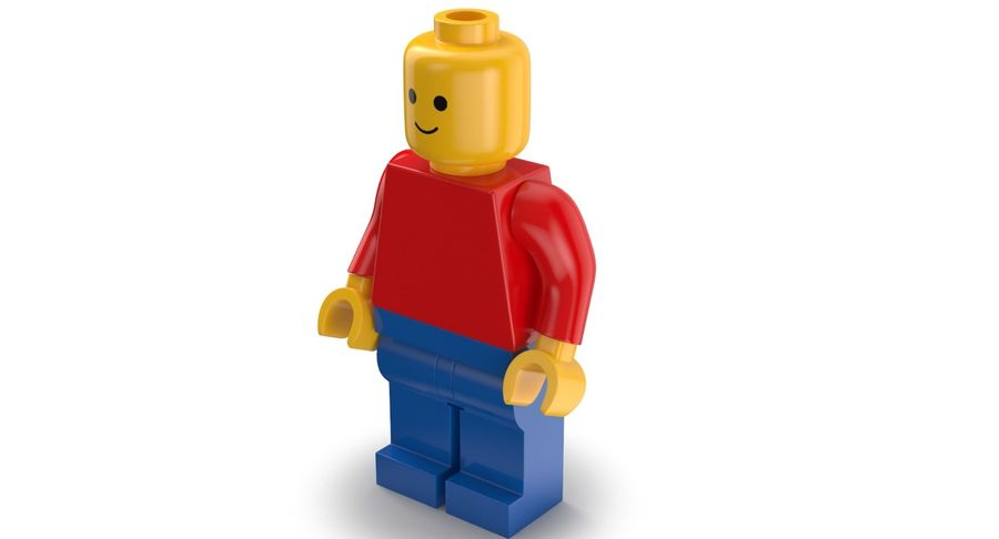LEGO royalty-free 3d model - Preview no. 5
