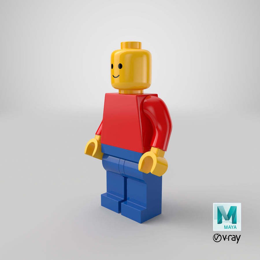 LEGO royalty-free 3d model - Preview no. 23