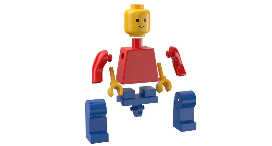 LEGO royalty-free 3d model - Preview no. 9