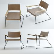 United Strangers Outlaw Lounge Chair 3d model