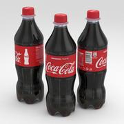 Beverage Bottle Coca-Cola 500ml 3d model