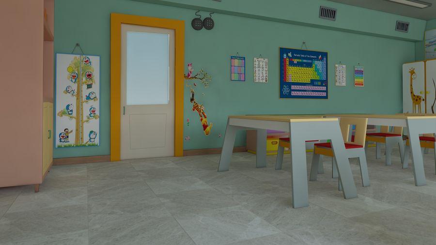 漫画教室3Dモデル royalty-free 3d model - Preview no. 13