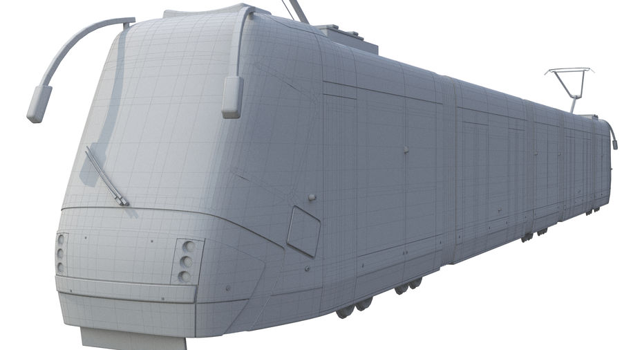 Tåg royalty-free 3d model - Preview no. 6