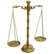 Scales Of Justice(1) 3d model