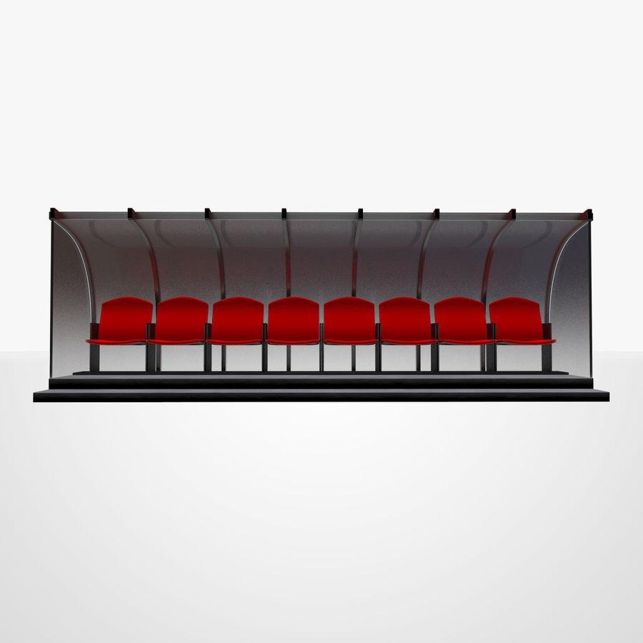 Pirogue de sport royalty-free 3d model - Preview no. 4