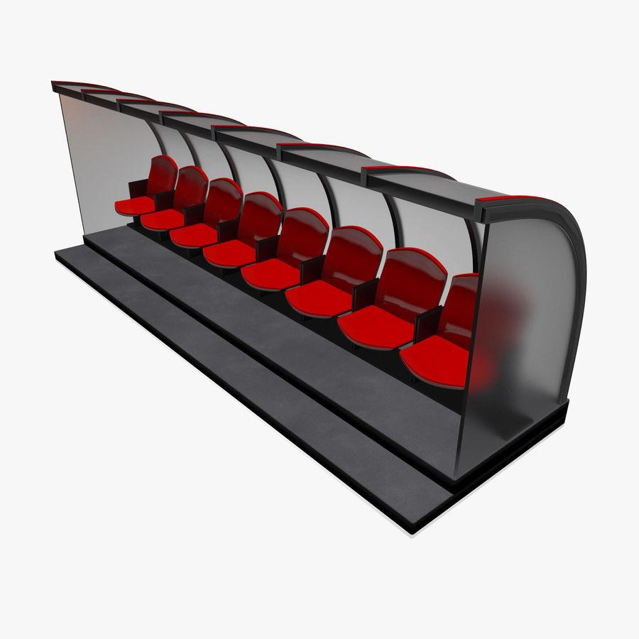 Pirogue de sport royalty-free 3d model - Preview no. 1