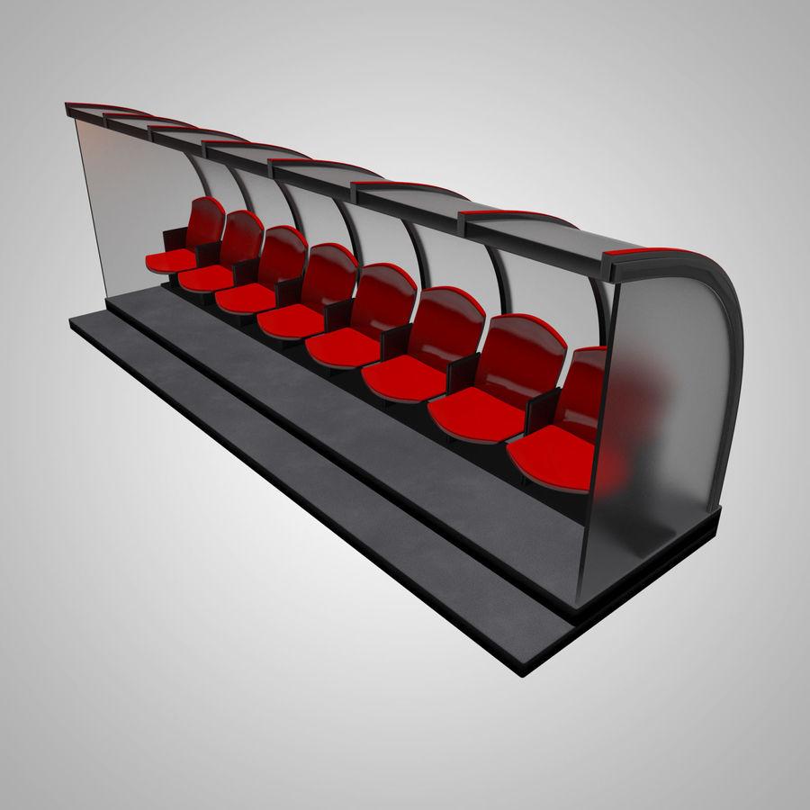 Pirogue de sport royalty-free 3d model - Preview no. 2