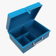 Pudełko śniadaniowe 3d model