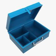 午餐盒 3d model