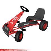Pedal Go Kart 3d model