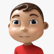 卡通男孩 3d model