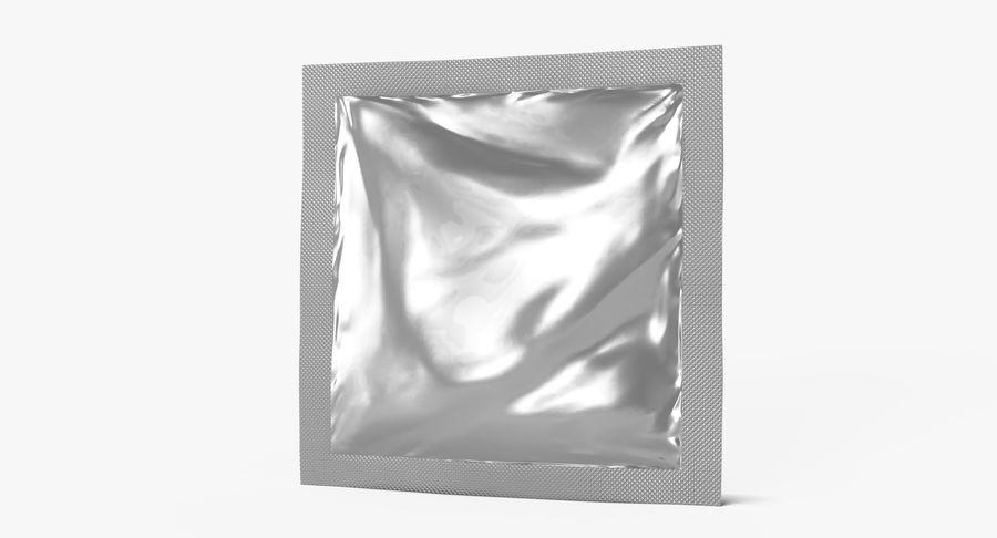 Sample Sachet v5 royalty-free 3d model - Preview no. 5
