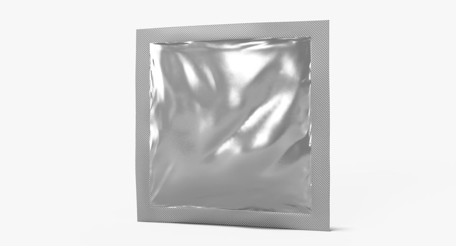 Sample Sachet v5 royalty-free 3d model - Preview no. 6