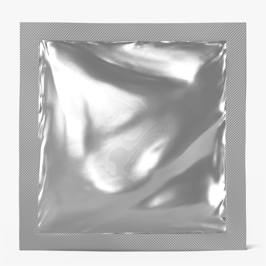 Sample Sachet v5 royalty-free 3d model - Preview no. 1