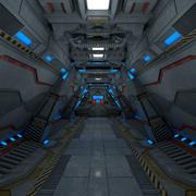 Corredor Sci modelo 3d