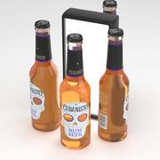 ビールボトルキューバニストラム風味のビール330ml 3d model