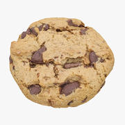 Chocolate Chip Cookie 01 3d model