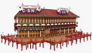 Floating Casino 3d model