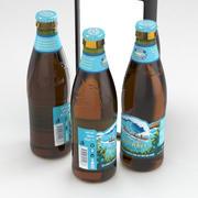 Beer Bottle Kona BigWave Golden Ale 355ml 3d model