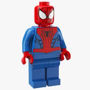 LEGO Spider Man modelo 3d