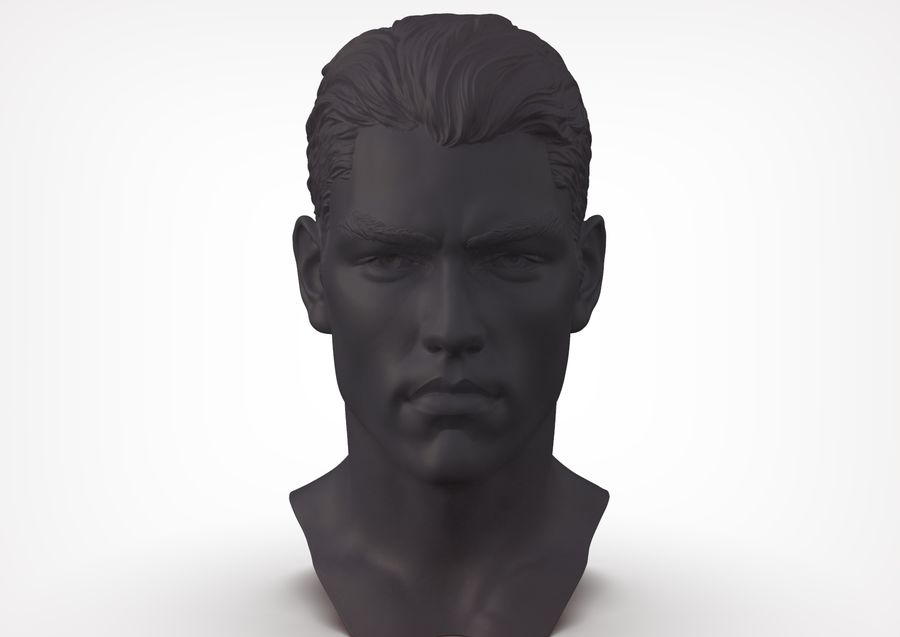 Tyson  Bollou for printing royalty-free 3d model - Preview no. 4