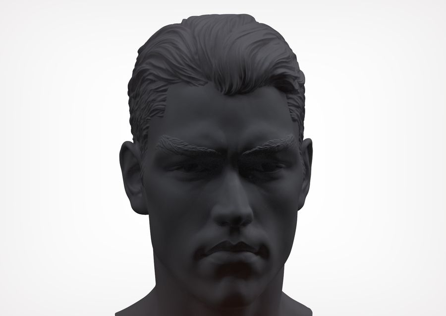 Tyson  Bollou for printing royalty-free 3d model - Preview no. 5