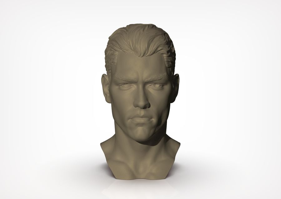 Tyson  Bollou for printing royalty-free 3d model - Preview no. 3